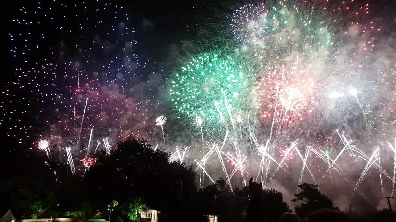 Final Fireworks Hellfest 2016 4k Feu D Artifice Youtube