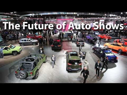 The Future of Auto Shows - Autoline This Week 2126