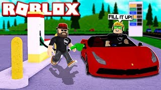 BUILD YOUR OWN GAS STATION in ROBLOX SIMULATOR