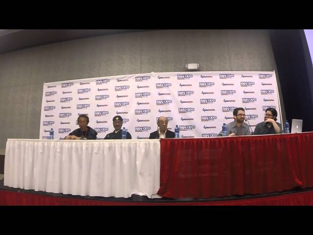 Triple Godzilla Panel - Dallas Fan Expo 2015