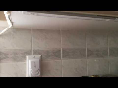 sunbeam wave motion under counter led light strip problem youtube rh youtube com