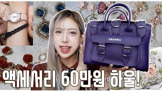 $600 My Accessories HAUL!! - Earrings, Minibag, Watch