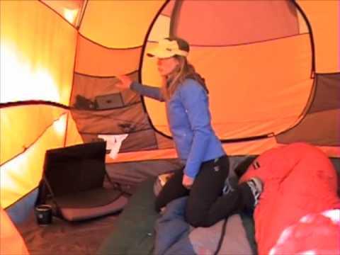 & Marmot Halo tent - YouTube