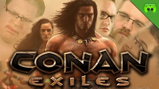WIR ROCKEN OPEN WORLD 🎮 Conan Exiles #1