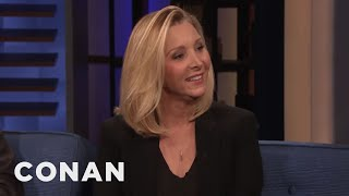 Why Lisa Kudrow Hates Working Out - CONAN on TBS