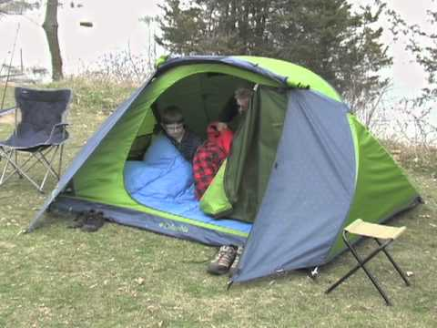 Columbia Mt. Logan 2-person Dome Tent & Columbia Mt. Logan 2-person Dome Tent - YouTube