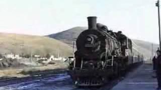 【中国】南票鉱務区の上游形(SY)蒸気機関車