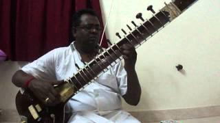 sitar-Raag-Des,Alaap & Jod,By Nanganallur P.V.S.Jagath eesan,chennai.