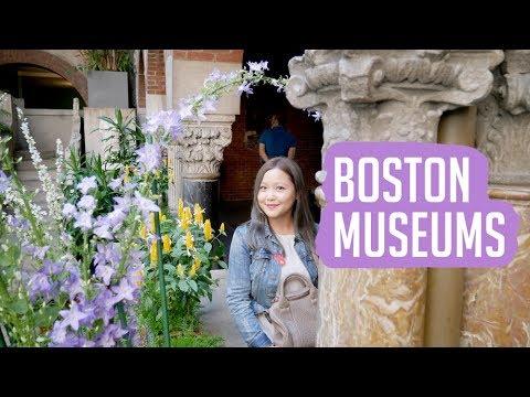 BOSTON VLOG: Isabella Stewart Garden Museum & Museum of Fine Arts
