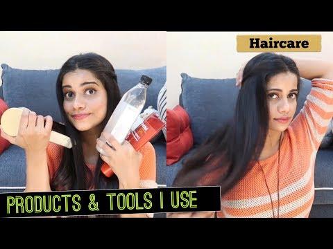 HAIRCARE AT HOME | PRODUCTS & TOOLS I USE | Sana K