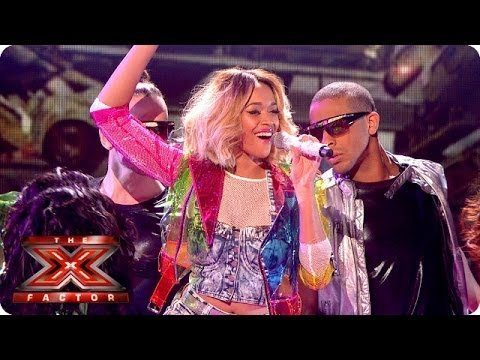Tamera Foster sings We Found Love by Rihanna - Live Week 8 - The X Factor 2013
