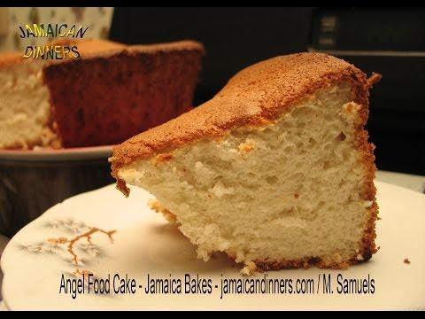 CARIBBEAN ANGEL FOOD CAKE recipe