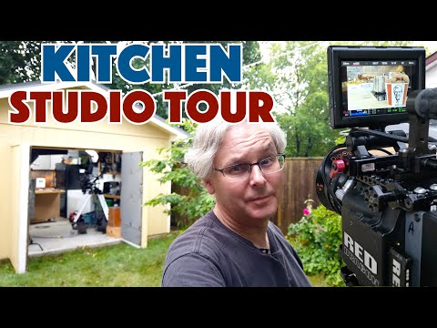 Behind The Scenes Kitchen Studio And (RED) Film Equipment Tour 2019