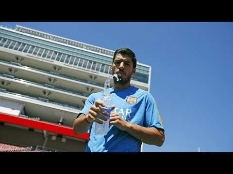 FC Barcelona US tour: Entrevista Luis Suárez