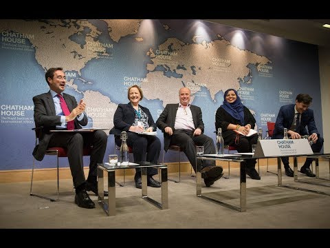 "Andreas Dracopoulos participated in a panel entitled ""Exiting the Echo Chamber"" at Chatham House"