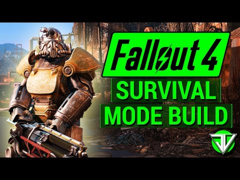 FALLOUT 4: My Level 1 BUILD For NEW SURVIVAL MODE! (SPECIAL and PERKS Guide for Survival)