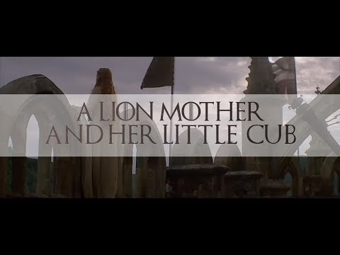 Cersei Lannister + Esmae Baratheon | A Lion Mother And Her Little Cub