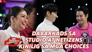 DABARKADS SA  STUDIO AT NETIZENS  KINILIG SA MGA CHOICES | Bawal Judgmental | February 25, 2020