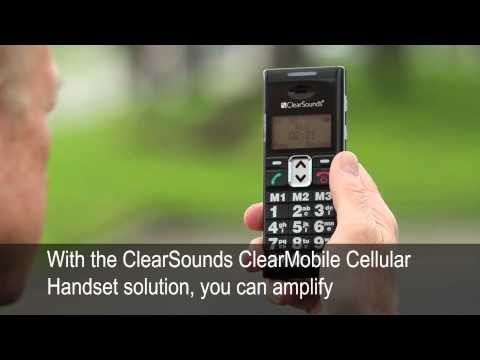 ClearSounds Cellular Handset