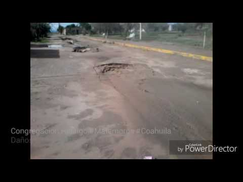 #VCiudadanaVTV Caída de drenaje #Matamoros #Coahuila