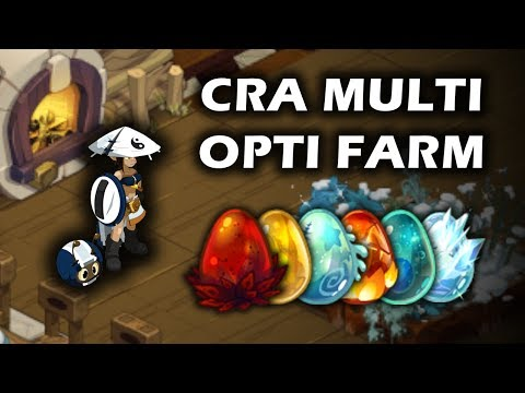 [DOFUS] Gryfox - Stuff Cra Multi Optimisé Farm