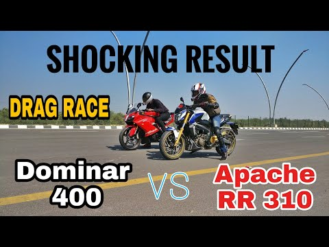Dominar 400 vs Apache RR 310 (DRAG RACE) || Highway Top End || India's Largest Highway