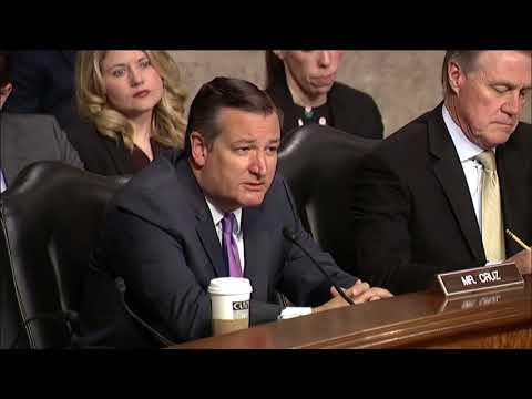 Sen. Cruz at Senate Armed Services Committee - April 12, 2018