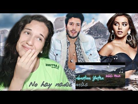 Sebastián Yatra Isabela Merced - My Only One No Hay Nadie Más  REACCIÓN