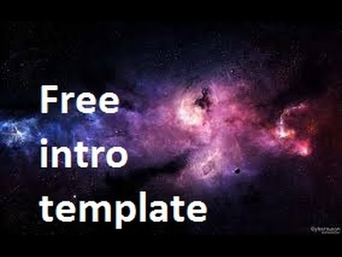 Free intro template youtube for Free intro templates for youtube