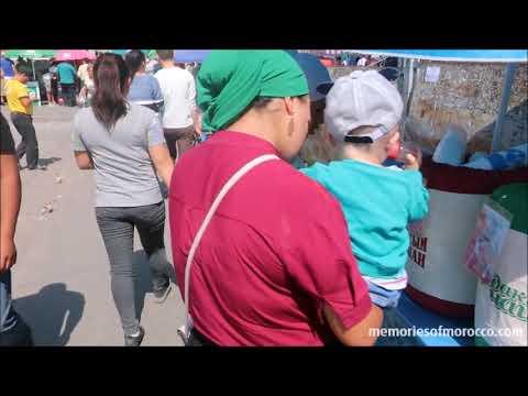A walking tour of Osh Bazaar in Bishkek, Kyrgyzstan