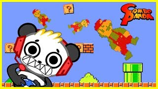 JELLY MARIO What Kind of Mario Game is This? Let's Play with Combo Panda