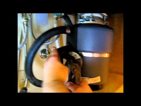 how to remove and install garbage disposal youtube