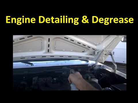 Clean & Detail Car Engine & Undercarriage body reconditioning