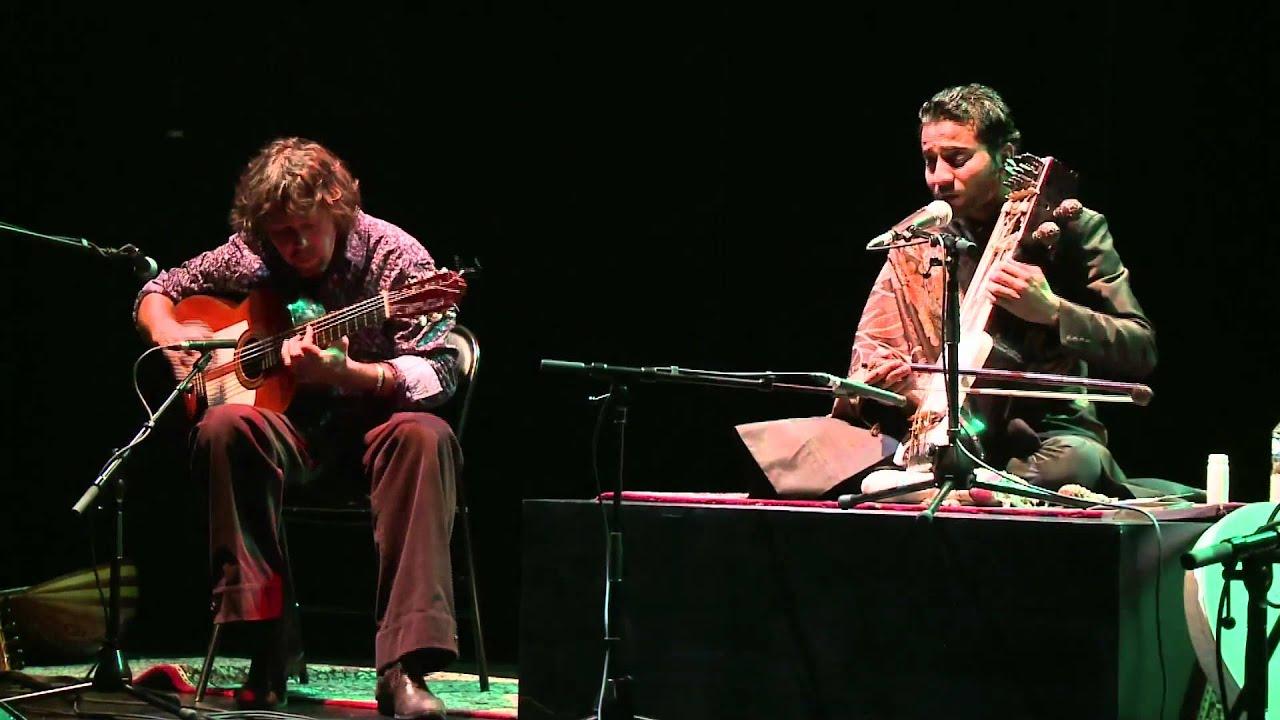 Duo Sabir Khan (sarangi) & Mathias Duplessy (guitar)