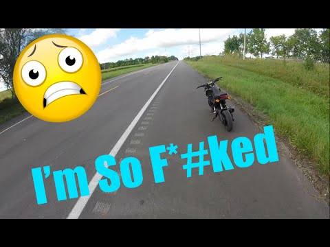 Honda Grom STRANDED IN THE MIDDLE OF NOWHERE! Saved by an amazing citizen!