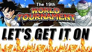 THE 19th WORLD TOURNAMENT DAY 1   DBZ DOKKAN BATTLE