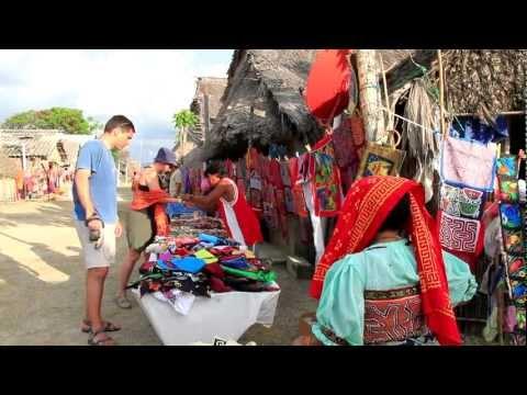 Tropical Islands and Traditional Culture in Guna Yala, Panama
