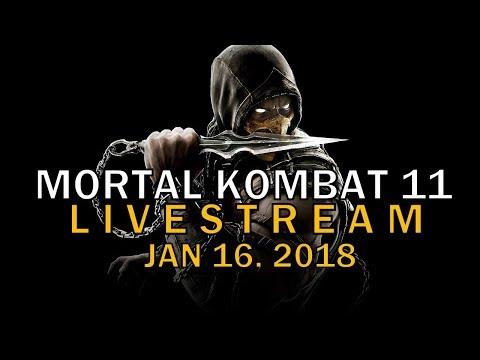 Mortal Kombat 11 Livestream / Returning Characters / Mortal Kombat 11 Leaks / Mk 11 News /