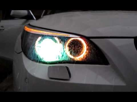 BMW Headlight Washer System - YouTube