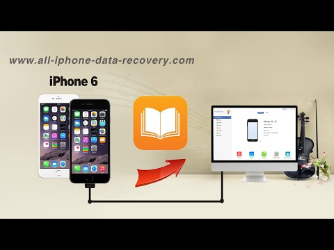 How to Backup PDF, EPub Books from iPhone 6S Plus/6 Plus to Computer or iTunes