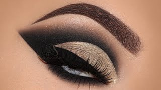 Holiday Makeup Tutorial | Cut Crease | Melissa Samways
