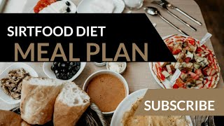Sirtfood Diet Meal Plan   The Sirtfood Diet   Adele Weight Loss