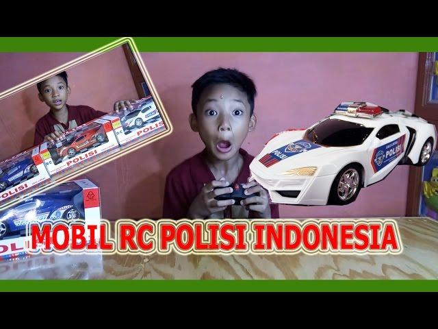 MAINAN MOBIL REMOTE CONTROL POLISI INDONESIA | TOYS CAR REMOTE CONTROL POLICE INDONESIA