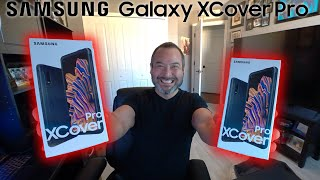 A look at the Samsung Galaxy XCover Pro - Built for Business!