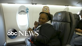 American Airlines names teen with Down syndrome honorary flight attendant