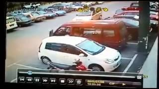 Kereta hilang di econsave kluang(wira biru)