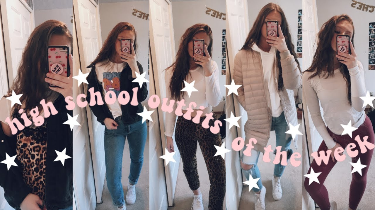 [VIDEO] - HIGH SCHOOL OUTFIT IDEAS (OOTW) 1