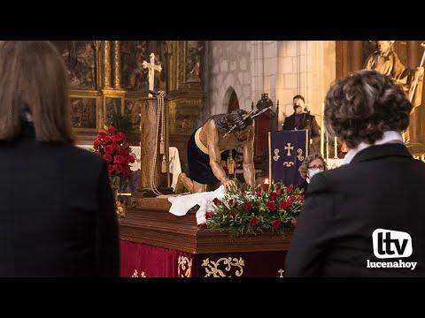 VÍDEO: Cuaresma en Lucena: Nuestro reportaje sobre el Vía Crucis de la Humillación.