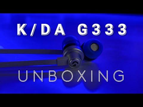 [UNBOX] Trên tay Logitech G  K/DA G333