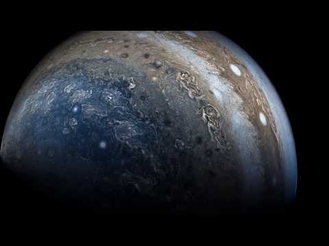 Jupiter Flyby Juno 2017 - Composite / Enhanced